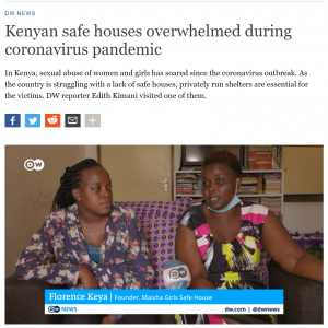 Maisha Safe House Girls Feature on DW